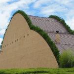 モザイクタイルミュージアム岐阜県多治見市・藤森輝信建築・粘土山をイメージしたおしゃれなタイルの博物館